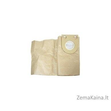 Popierinis filtro maišelis, 5 vnt po 30 Ltr (rudas) Grizzly NTS 1423-Inox siurbliui