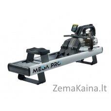 Profesionalus medinis irklavimo treniruoklis su reguliuojamu vandens pasipriešinimu First Degree Mega PRO XL