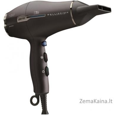 Profesionalus plaukų džiovintuvas Imetec Bellissima Proffessional IM11005N/G/L su jonizatoriumi, 2000 W