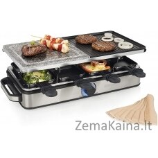 Rakleto grilis Princess 162635 Raclette 8 Stone and Grill Deluxe