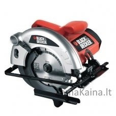 Rankinis diskinis pjūklas CD601 1100W 55 mm, Black+Decker