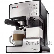 Rankinis kavos aparatas Breville PrimaLATTE VCF045X su kapučino funkcija