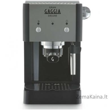 Rankinis kavos aparatas GranGaggia Deluxe RI8425/11, juodas 2
