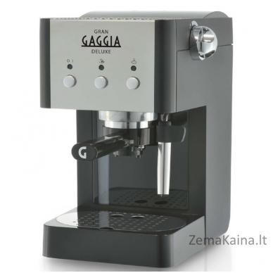 Rankinis kavos aparatas GranGaggia Deluxe RI8425/11, juodas