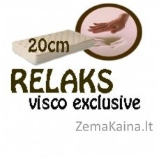 Čiužinys RELAKS visco exclusive 200*90*20