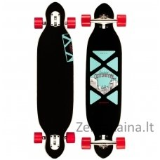 "Riedlentė LONGBOARD CRISS CROSS 38"" DROP-THROUGH"