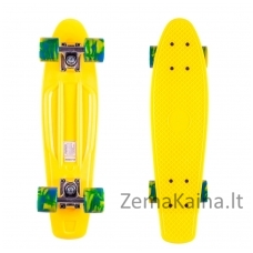 Riedlentė Pennyboard Street Surfing Beach Yellow