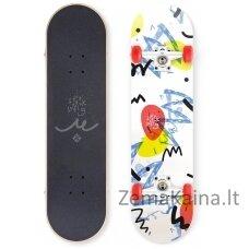 "Riedlentė Street Surfing Street Skate Wall Writer II 31"", kinų klevas, ABEC-7"