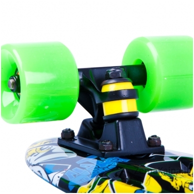 Riedlentė Pennyboard Worker Colory Angry Green 8