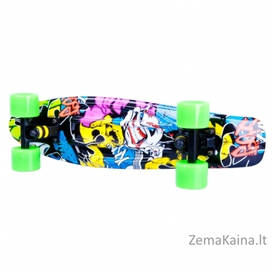 Riedlentė Pennyboard Worker Colory Angry Green 10