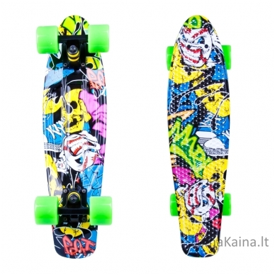 Riedlentė Pennyboard Worker Colory Angry Green