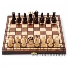 Mediniai šachmatai-šaškės Filipek 24313