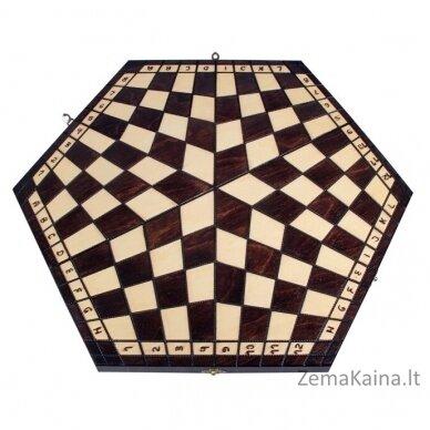 """Šachmatai 3 žaidėjams """" Three"""" 3"""