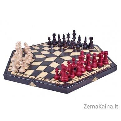 """Šachmatai 3 žaidėjams """" Three"""" 6"""