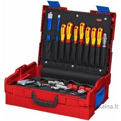Santechninių įrankių komplektas  L-BOXX 52vnt., Knipex