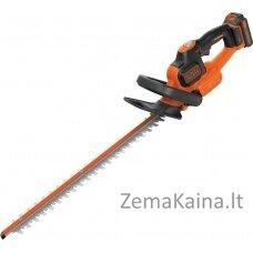 Akumuliatorinės gyvatvorių žirklės Black&Decker  GTC18452PC-QW (450 mm)
