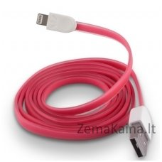 Silikoninis USB laidas FOREVER MD818ZM/A pink (iPhone 5/6)