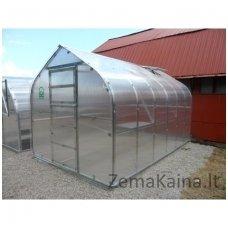 Šiltnamis Standart*KLASIKA 10m2 4 mm danga (2 stoglangiai) 2,5 x 4 m