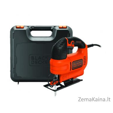 Siaurapjūklis Black+Decker KS701EK 70 mm 520 W, Kitbox 2