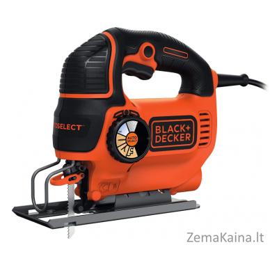 Siaurapjūklis Black+Decker KS801SEK 80 mm 550 W, Kitbox 2