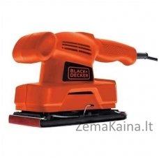 Šlifatorius plokštuminis KA300 135W 91x187 mm, Black+Decker B&D