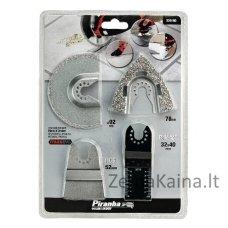 Šlifavimo/pjovimo priedų rinkinys 4 vnt. MT300 KA įrankiui, Black+Decker