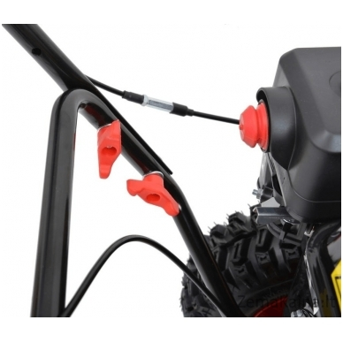 Sniego valytuvas - šluota benzininis HECHT 8616 SE 4