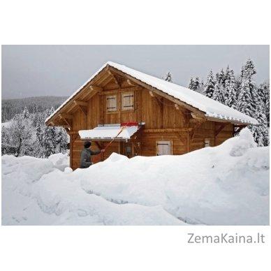 Sniego valytuvas stogui + Vario rankena SR-M60/ZM-V4, Wolf Garten 2
