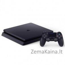 Sony PlayStation 4 500GB Slim WIFI juoda žaidimų konsolė