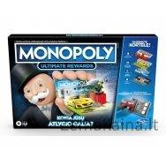 Stalo žaidimas Monopolis su elektronine bankininkyste