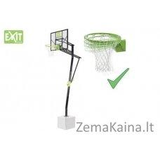 Stacionarus (įbetonuojamas) krepšinio stovas su spyruokliuojančiu lanku Exit Galaxy