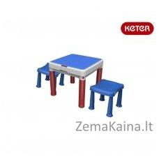 Staliukas konstruktorius su 2 kėdutėmis ConstrucTable