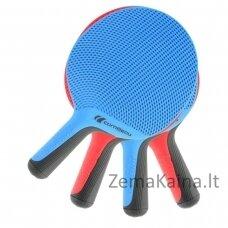 Stalo teniso rakečių rinkinys Cornilleau SoftBat Quattro (4 raketės + 4 kamuoliukai)