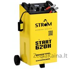 Akumuliatoriaus įkroviklis - paleidėjas STROM START-620H