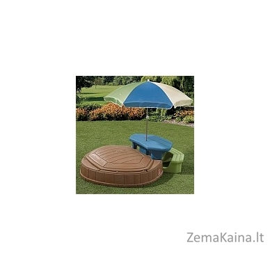 STEP 2 smėlio dėžė su staliuku, skėčiu ir suoliuku 2