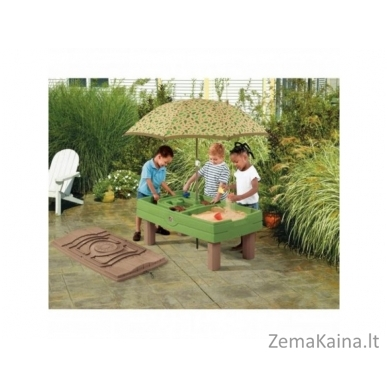 STEP 2 smėlio ir vandens žaidimų stalas su skėčiu 2