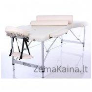 Sulankstomas masažo stalas Restpro Alu M2/Cream SET