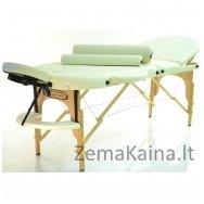 Sulankstomas masažo stalas Restpro Classic Oval 3/Cream SET
