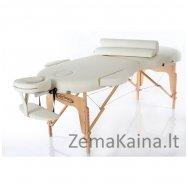 Sulankstomas masažo stalas Restpro Vip Oval 2/Cream SET