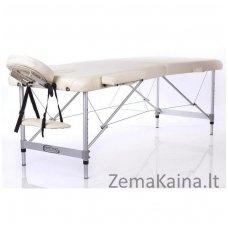 Sulankstomas masažo stalas Restpro Alu M2/Cream