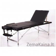 Sulankstomas masažo stalas Restpro Alu L3/Black + DOVANA pusinė pagalvėlė