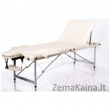 Sulankstomas masažo stalas Restpro Alu L3/Cream