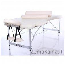 Sulankstomas masažo stalas Restpro Alu L2/Cream SET