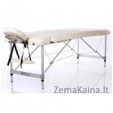 Sulankstomas masažo stalas Restpro Alu L2/Cream + DOVANA pusinė pagalvėlė