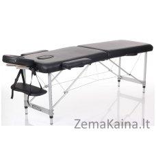 Sulankstomas masažo stalas Restpro Alu S2/Black + DOVANA pusinė pagalvėlė