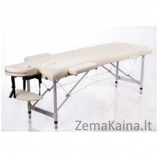 Sulankstomas masažo stalas Restpro Alu S2/Cream
