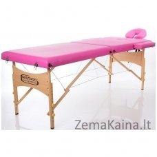 Sulankstomas masažo stalas Restpro Classic 2/Pink +  Dovana buteliukas aliejui su krepšeliu