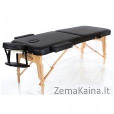 Sulankstomas masažo stalas Restpro Vip 2/Black + DOVANA medvilninis užtiesalas