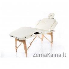 Sulankstomas masažo stalas Vip 4/ Cream