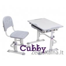 Augantis stalas ir kėdė Cubby  LUPIN GREY